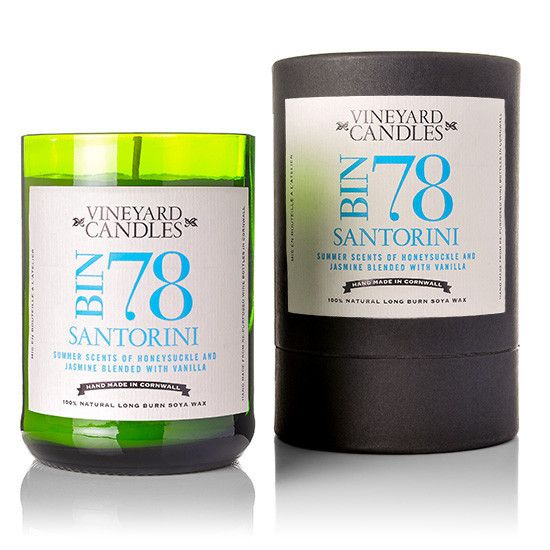 Vineyard Santorini Candle