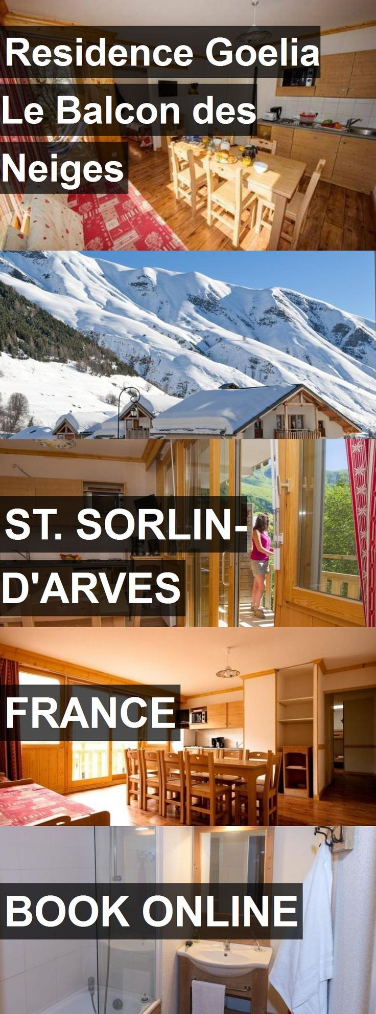 Hotel Residence Goelia Le Balcon des Neiges in St. Sorlin-d'Arves, France. For more information, photos, reviews and best prices please follow the link. #France #St.Sorlin-d'Arves #travel #vacation #hotel