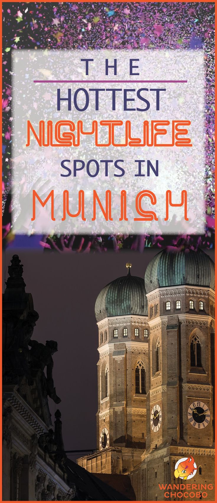 Experience an epic night out partying in Munich, Germany. Explore the best nightlife spots in Munich including bars, cocktail bars, nightclubs, wine bars and microbreweries. Learn about drinking culture, safety and even how to order a drink in German! #munich #germany #europe