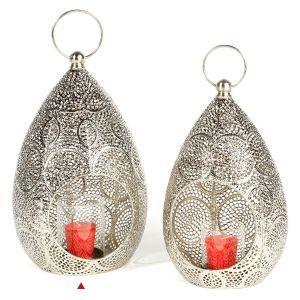 19 best lanterns outdoor metal indoor tea light holders images on homewares lightslanterns decor direct tear drop metal lantern aloadofball Image collections
