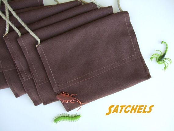 Super Easy Satchels for Indiana Jones Party