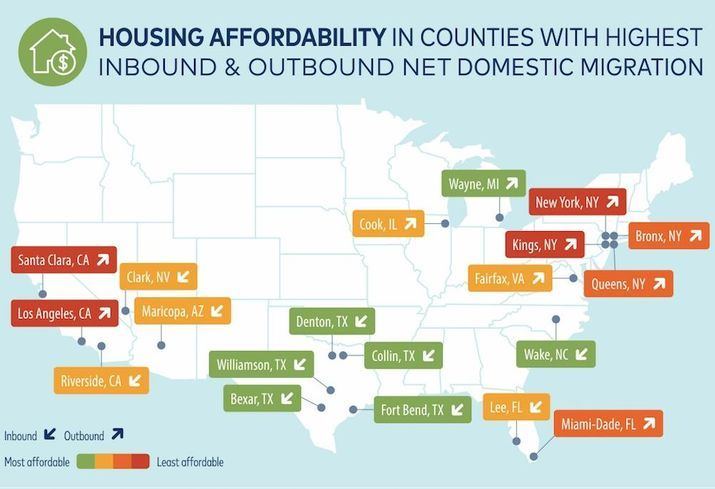 5 Texas Counties Top List Of Most Affordable Places To Move Texas County County Moving To Texas