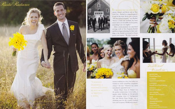 SOUTHERN NEW ENGLAND WEDDING MAGAZINE   Samuel Lippke Studios