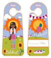 Printable Door Hangers Lottie
