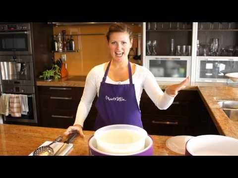 """A great how to video on making Halloumi Cheese at home using your """"Mad Millie Artisan's One Day Cheese Kit"""""""