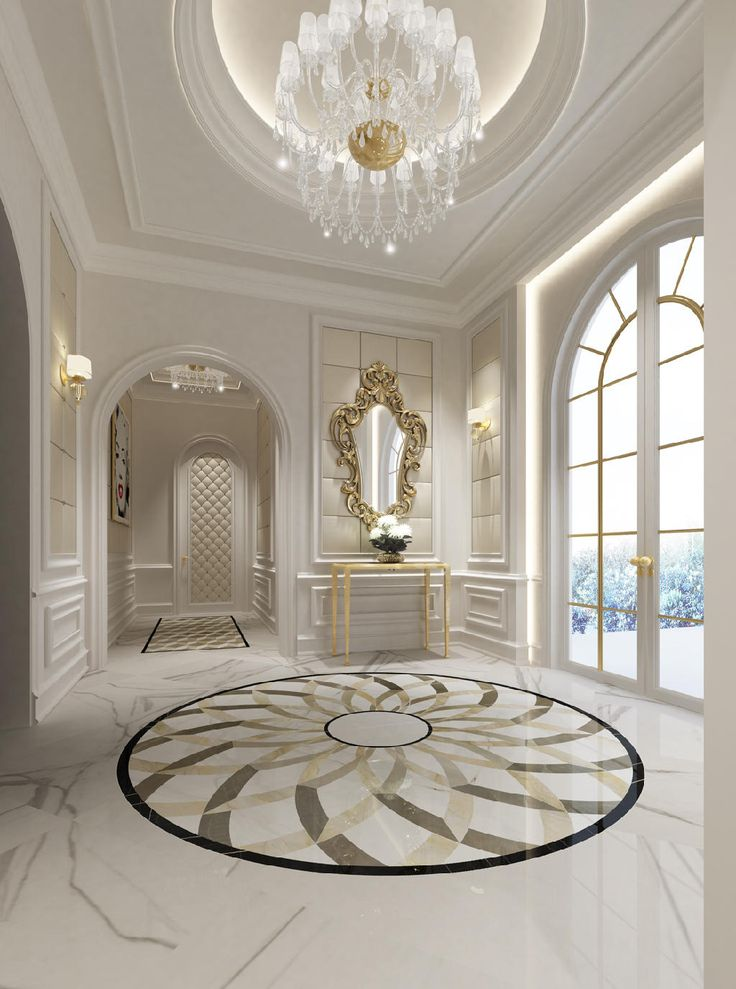 Lobby Abu Dhabi Luxury Interior Floor Design