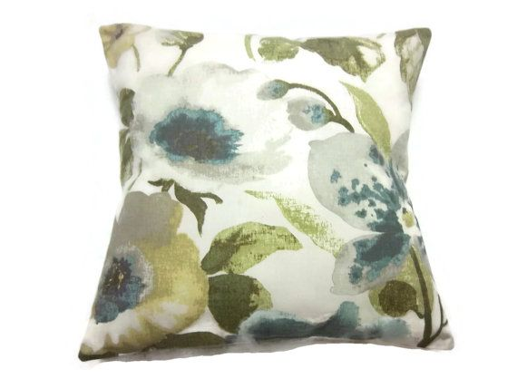 Celery Green And Blue Ideas For Clarion Room Decorative Pillow Cover The Perfect Color Scheme My Living Hand Me Down Dark Olive Couches