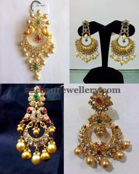 Jewellery Designs: 30Gms Chandbalis Collection