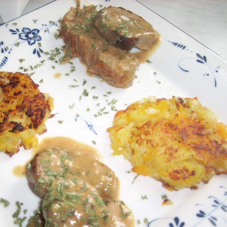 Kartoffel-Kürbis-Plätzchen ..von Marion Wietler..