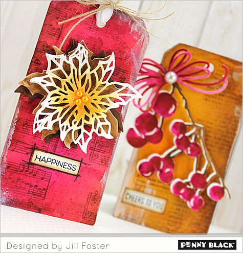 Make It Bright With Jill Penny Black Penny Black Stamps