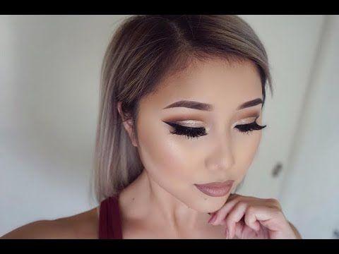 Tartelette in Bloom | Cut Crease Makeup Tutorial - YouTube