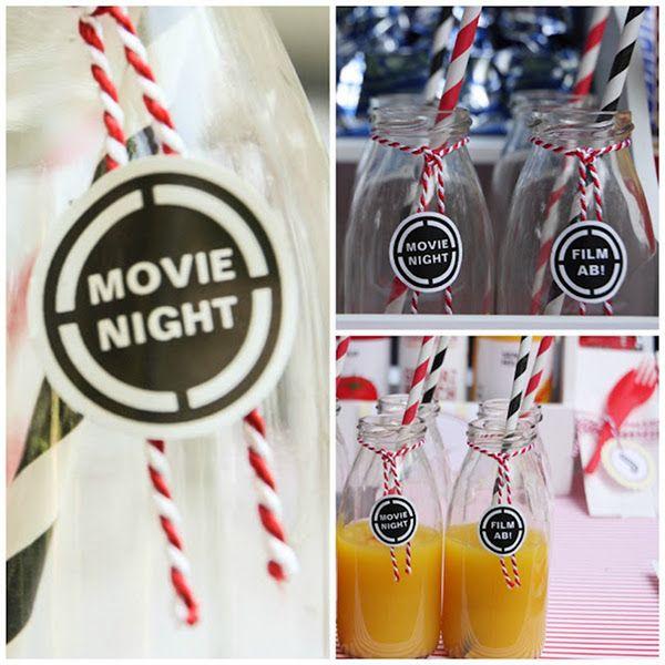 Kindergeburtstag, Partydekoration, Movie Night, Kino