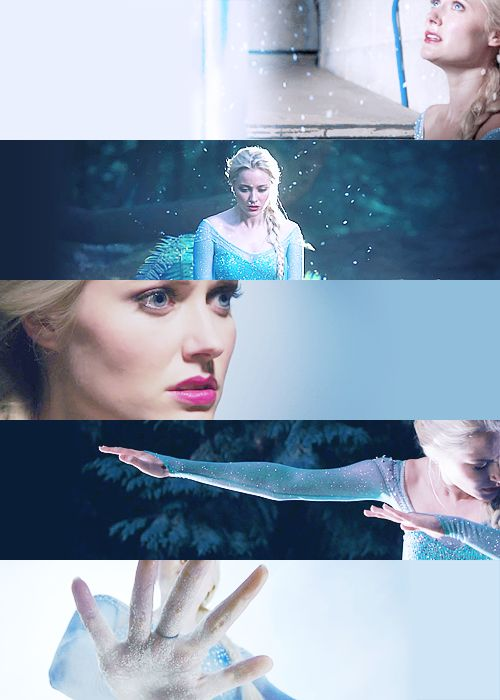 Georgina Haig as Elsa I think she's doing an amazing job!