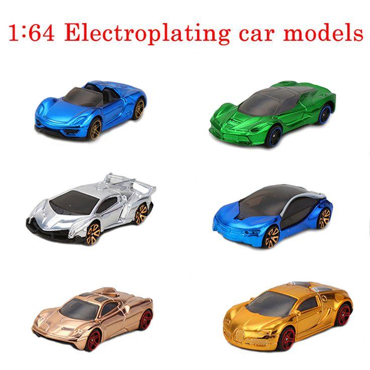 1: 64 hot wheels猛烈な勢いで電気めっき金属toys cars用男の子ダイキャストモデルポケットcarsギフトtoys子供の教育