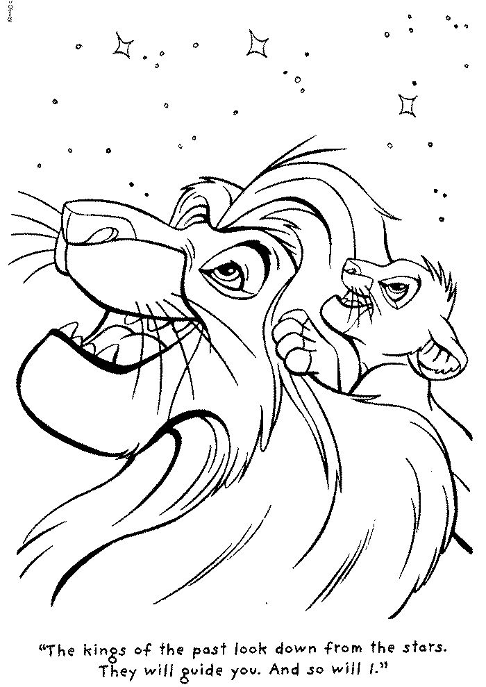 lion king coloring pages lion pictures