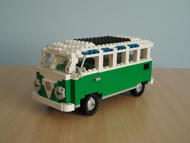 VW Samba van by Mad physicist, via Flickr