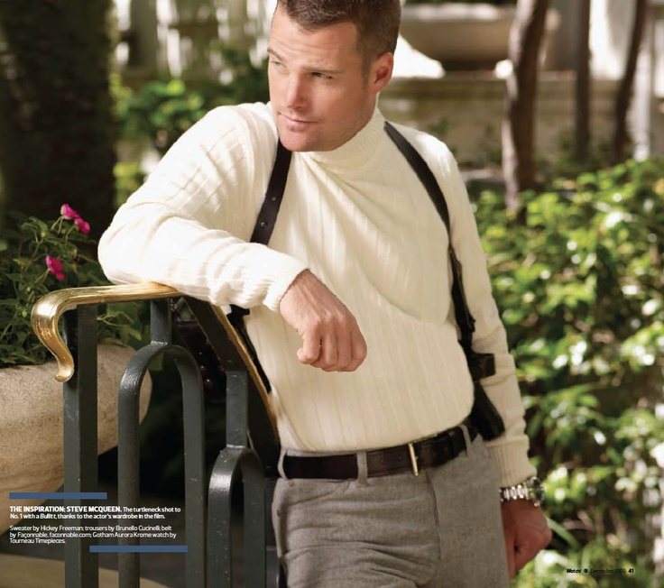 NCIS LA's Chris O'Donnell photographed by Cliff Lipson