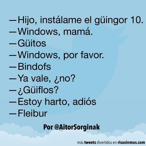 Instálame el güingor 10. #humor #risa #graciosas #chistosas #divertidas