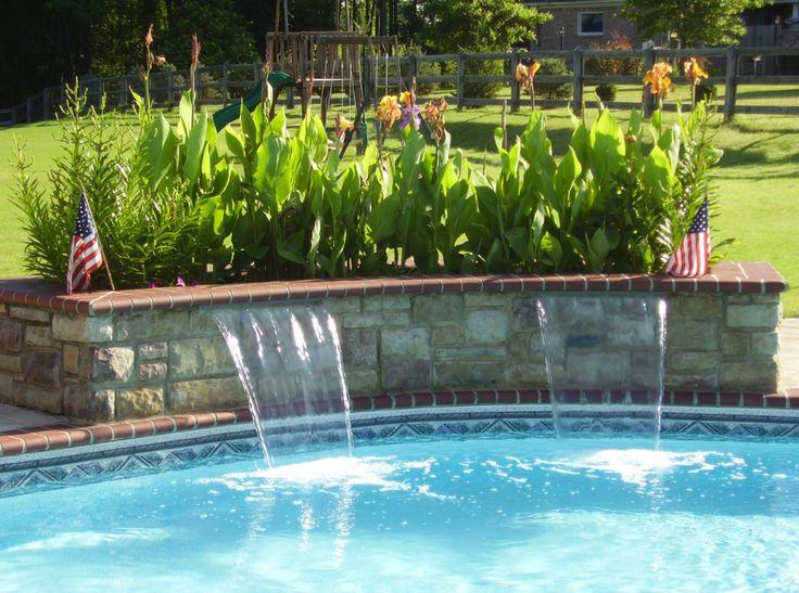 Top Best Pool Water Features Ideas On Pinterest Backyard
