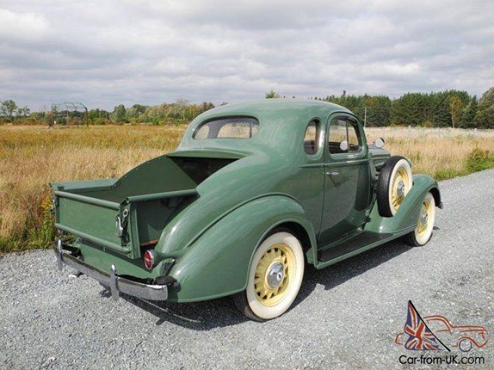 1936 Ford 5 Window Coupe Maintenance Restoration Of Old – Dibujos