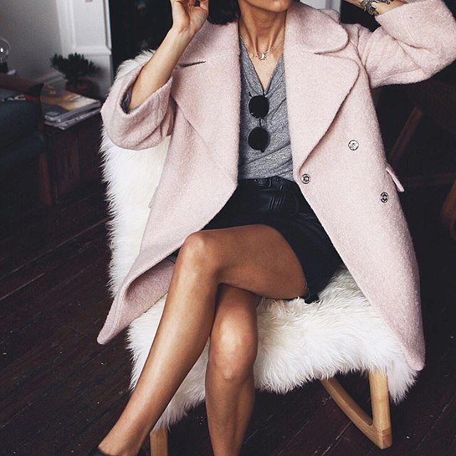coat available at @asos_au #pink #coat #asos