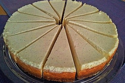 Cremiger NY Cheesecake #rezept #recipe #backen