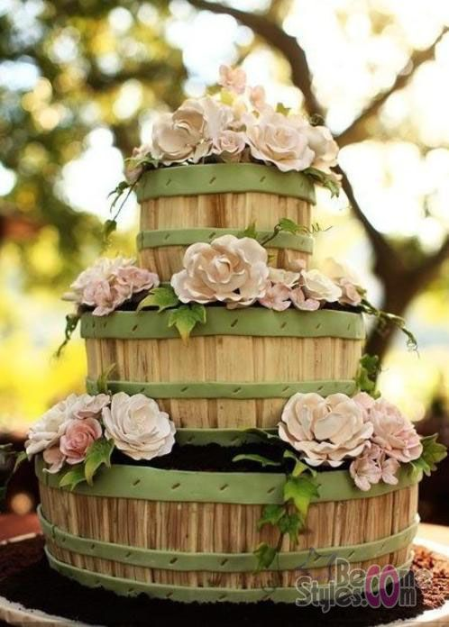 17 best images about wedding cakes on pinterest | 90th birthday, Hause ideen