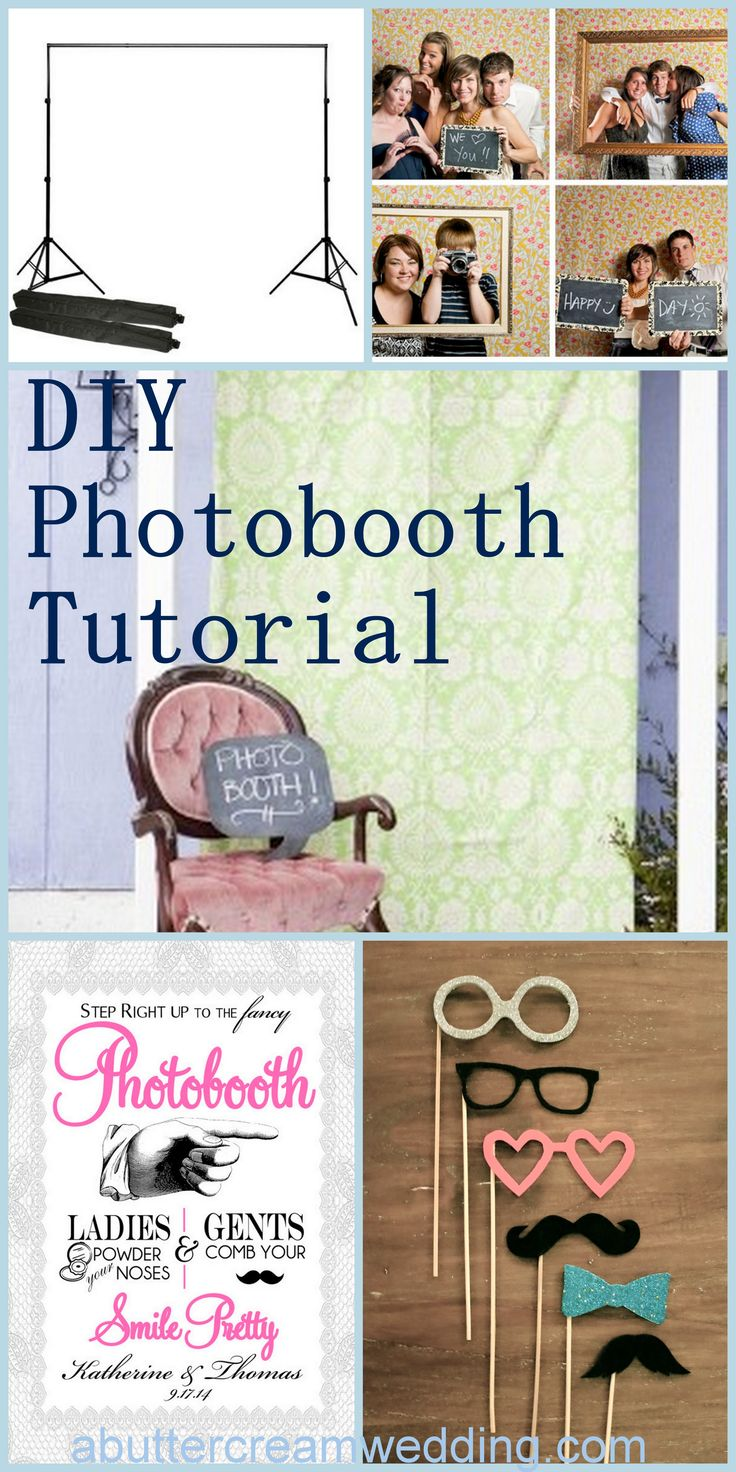 Best 25 diy party backdrop stand ideas on pinterest photo quasi crafty diy wedding photobooth tutorial solutioingenieria Image collections