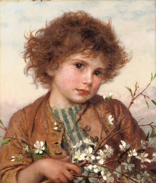Famous Victorian Paintings | Spring Blossom by Sophie ...