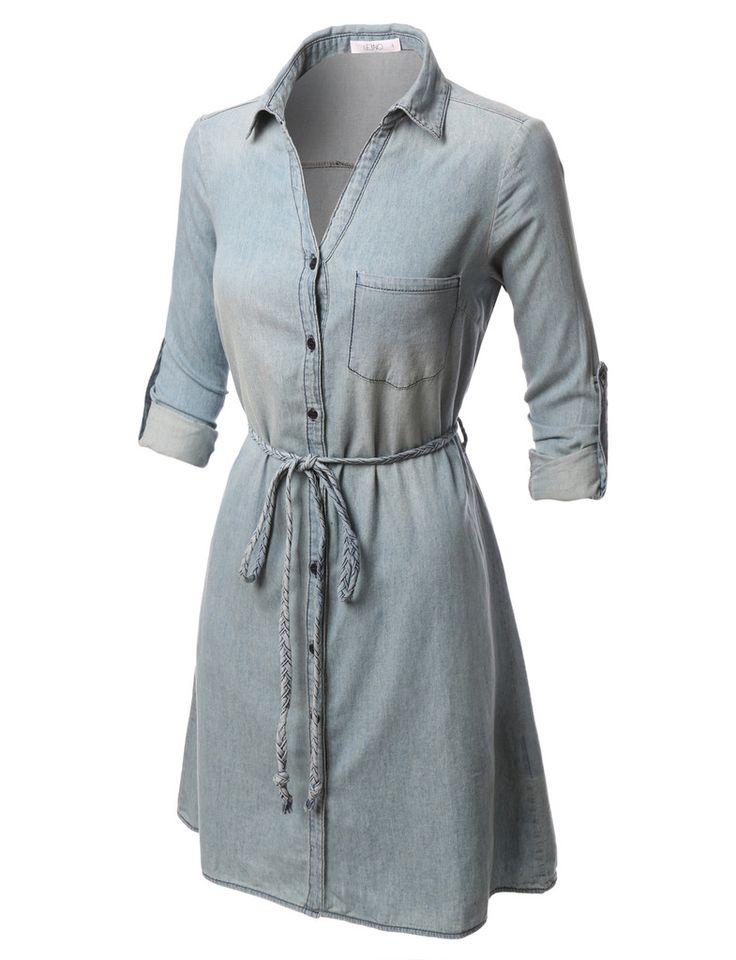Best 20 long sleeve shirt dress ideas on pinterest for Best short sleeve button down shirts reddit