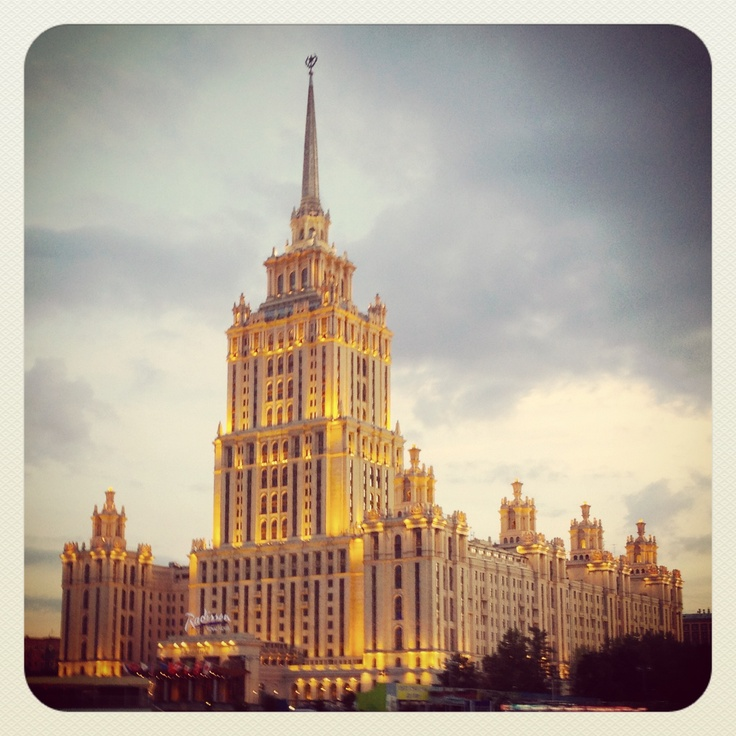A scene from Moscow...