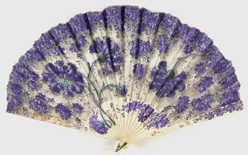 Fan ~ Late 19th century - Early 20th century ~ The Philadelphia Museum of Art.