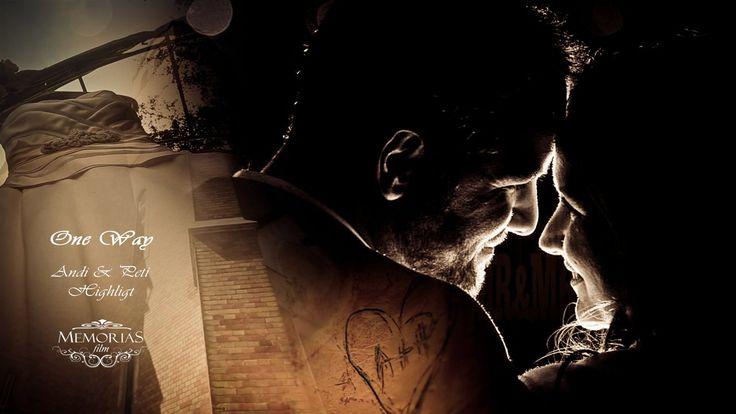 """Andrea & Péter wedding highlight film 05'35"""""""
