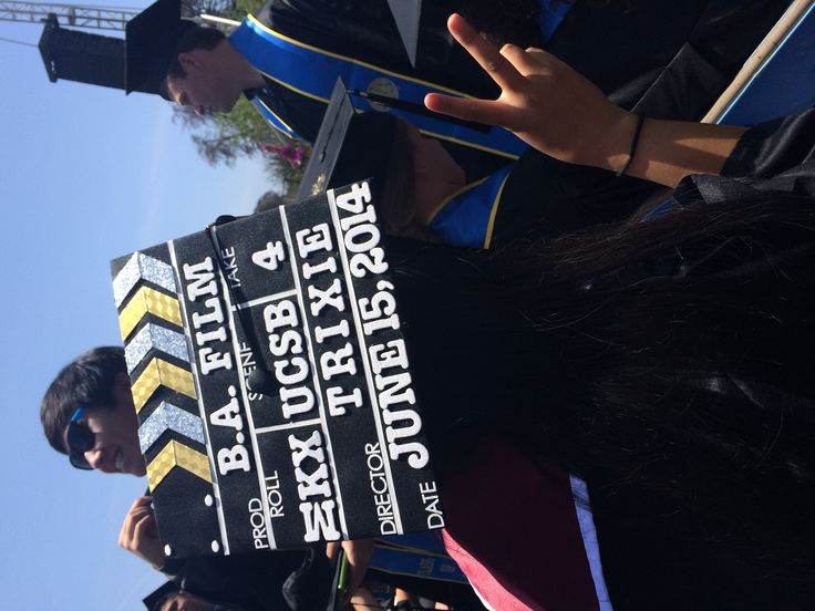 Film Major College Graduation Cap UCSB c / o & # 39; 14