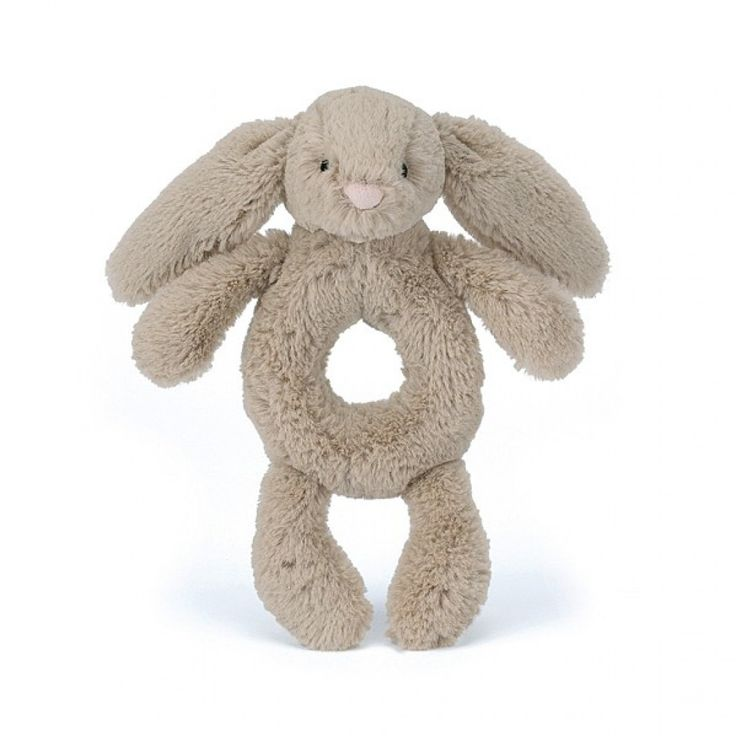 Easter: The perfect pal for tiny paws, it's the Bashful Bunny Grabbers. Playing with these bouncing bunnies helps babies develop their hand-eye skills.