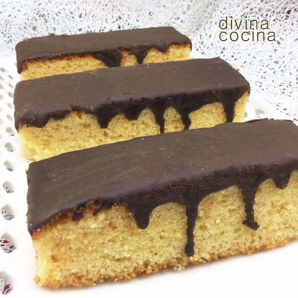 Magdalenas a la antigua con chocolate < Divina cocina