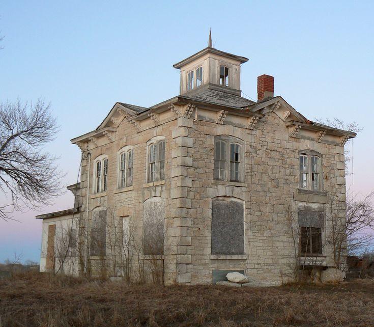 Abandoned House Near Ashland, NE