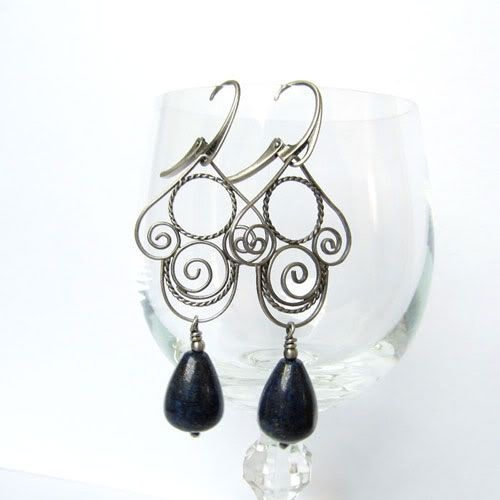 #filigree #silver #earrings #handmade #amade