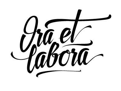 Ora et Labora by Alex