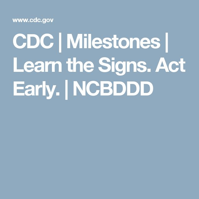 "CDC's ""Learn the Signs. Act Early."" - cme.hsc.usf.edu"
