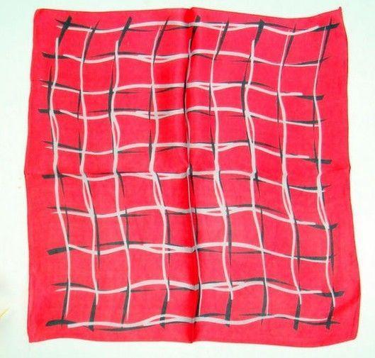 "20"" 100% Silk Scarf Square Women's Bandana Neck Dress Shawl Wrap Print Xf33087-Y"