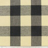 Black & Tan Sandwell Home Decor Fabric