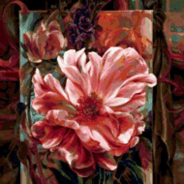 Цветы - художница Vie Dunn-Harr, предпросмотр