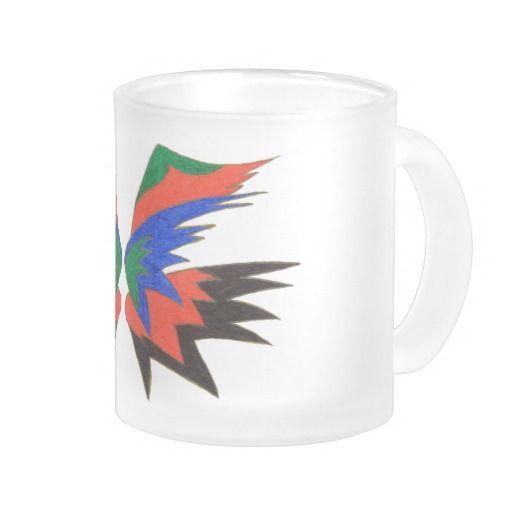 Glow Frosted Glass Mug