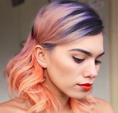 blue hair styles 17 best images about rockin these colorful locks on 3456