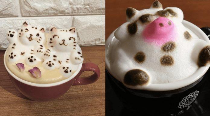 3D искусство пенки латте – отличный вариант поднять настроение любителю кофе | В мире интересного