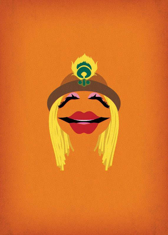 The Muppet Show Janice Minimalist Download Retro by TheRetroInc