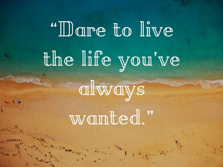 """Dare to live the life you've always wanted."" https://iuliaopritapsihoterapeut.ro/"