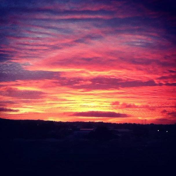 ANZAC Day sunset