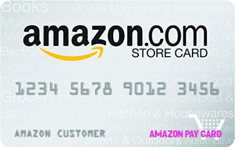 pay amazon store credit card online